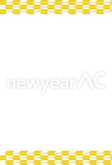 正月フレーム No1005692019年の無料年賀状デザインなら年賀状ac