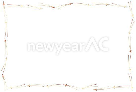 正月枠 正月枠 │年賀状テンプレート・年賀状素材の無料ダウンロードサイト「年賀状...