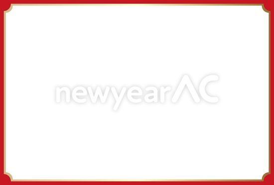 正月枠 No1006082019年の無料年賀状デザインなら年賀状ac