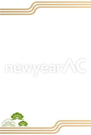 正月枠 No1006172019年の無料年賀状デザインなら年賀状ac