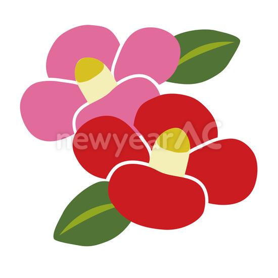 椿の花 No1017822019年の無料年賀状デザインなら年賀状ac