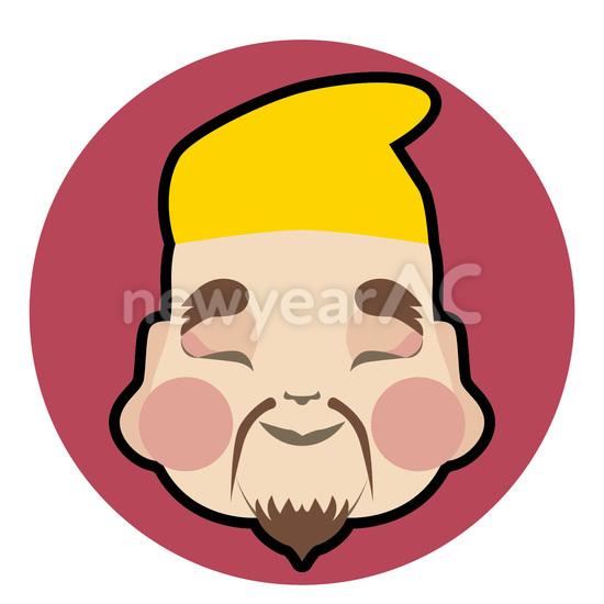 恵比寿 No1020722019年の無料年賀状デザインなら年賀状ac