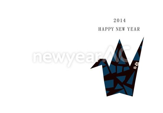 簡単 折り紙 折り紙 ツル : new-year.bz