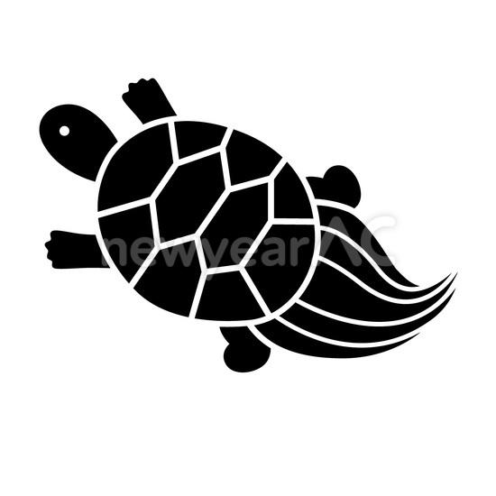 モノトーン 亀