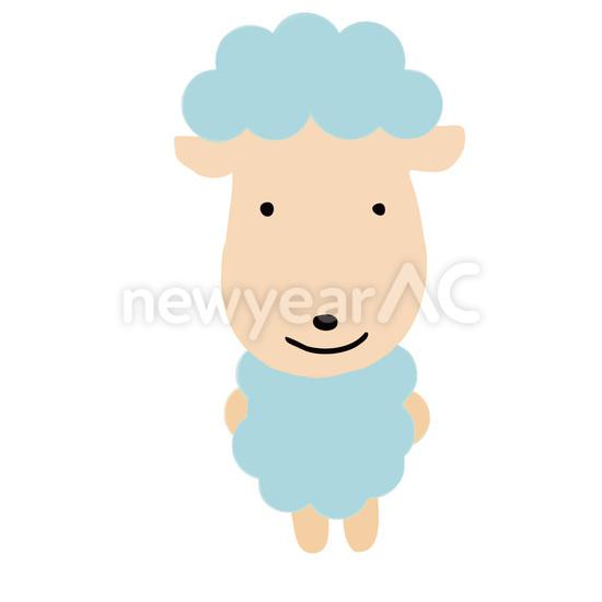 羊イラスト 12 No1032372019年の無料年賀状デザインなら年賀状ac