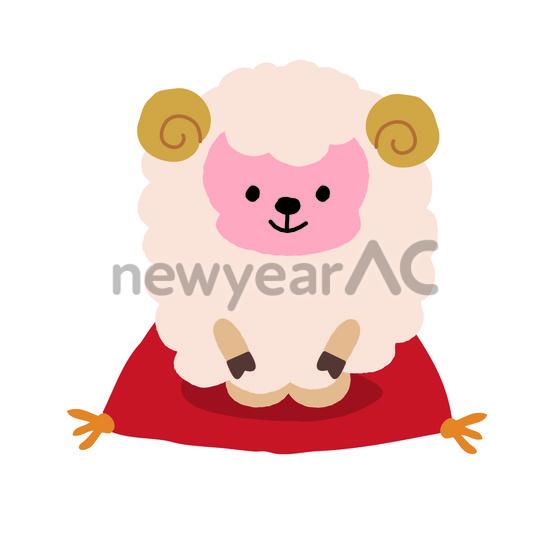 羊の挨拶 │年賀状 ...