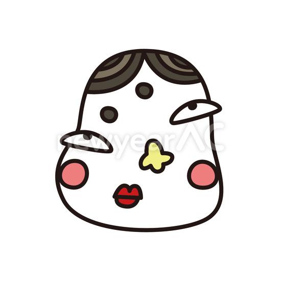 福笑い No1091152020年の無料年賀状デザインなら年賀状ac