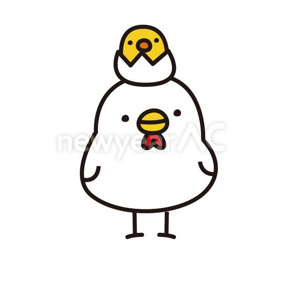 ベスト 鶏 イラスト 年賀状 壁紙イラストキャラクター