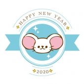 ねずみのHAPPY NEW YEAR
